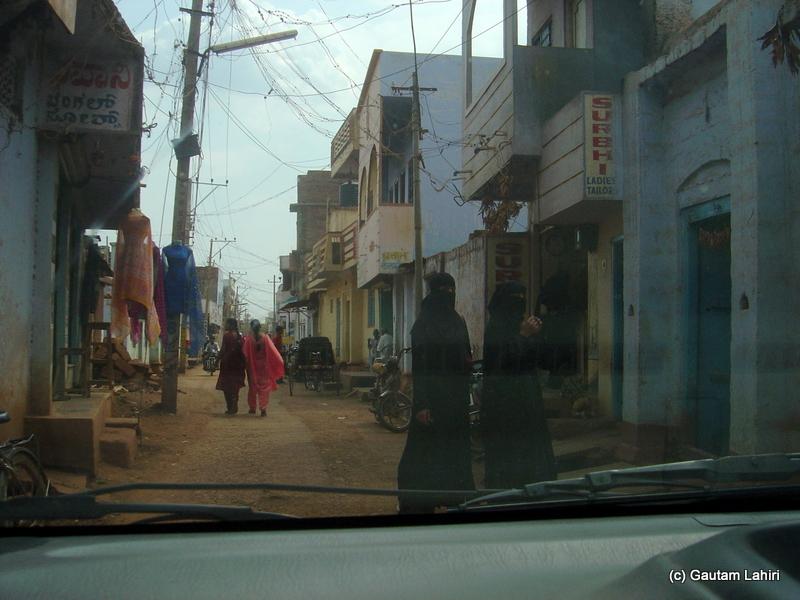 Narrow roads of Bidar city by Gautam Lahiri