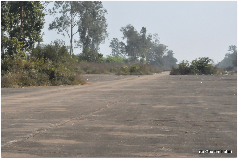 The British airfield was built on an East-West corridor, which meant that this airstrip experiences wind flow in this direction. So, the pilots faced the wind while take offs and landings at Joypur jungle, Bankura by Gautam Lahiri