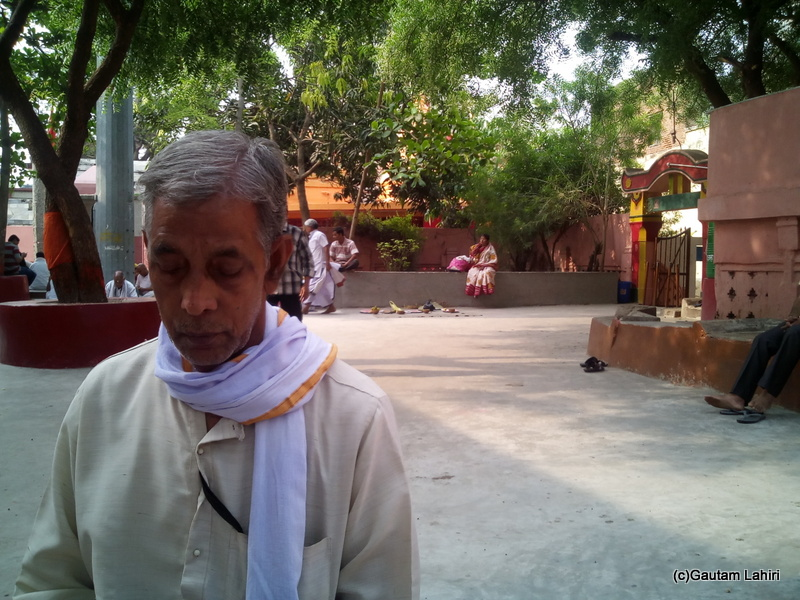 At Gaya, The priest assigned to me kept a hawk's eye on every single movement I made, on every single hymn I chanted and stopped me when I got waylaid by Gautam Lahiri
