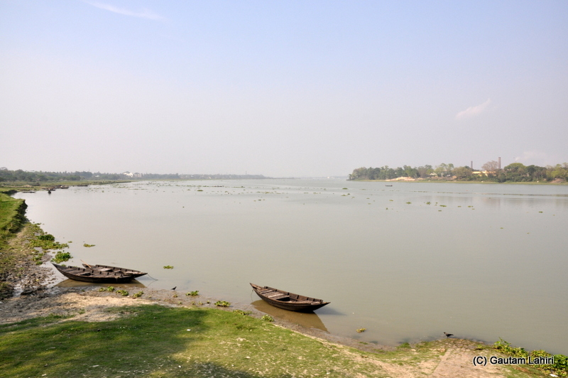 Bandel, West Bengal, India beside Hooghly river by Gautam Lahiri