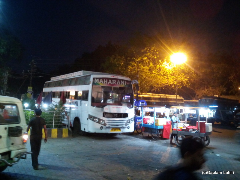At Gaya, The night queen had arrived and waited for the passengers to embark her at Gaya by Gautam Lahiri