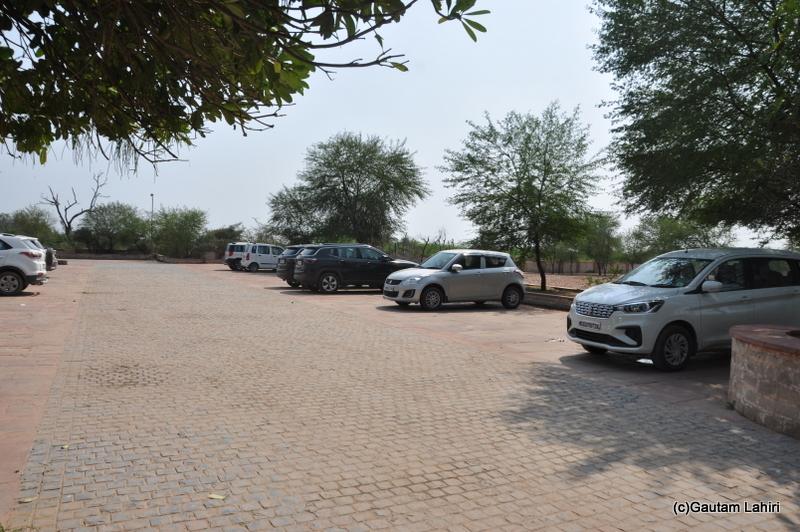 Suzuki Swift at the parking area at Keoladeo Sanctuary, Bharatpur Rajasthan taken by Gautam Lahiri