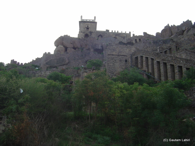 The Golconda fort, Hyderabad, India by Gautam Lahiri
