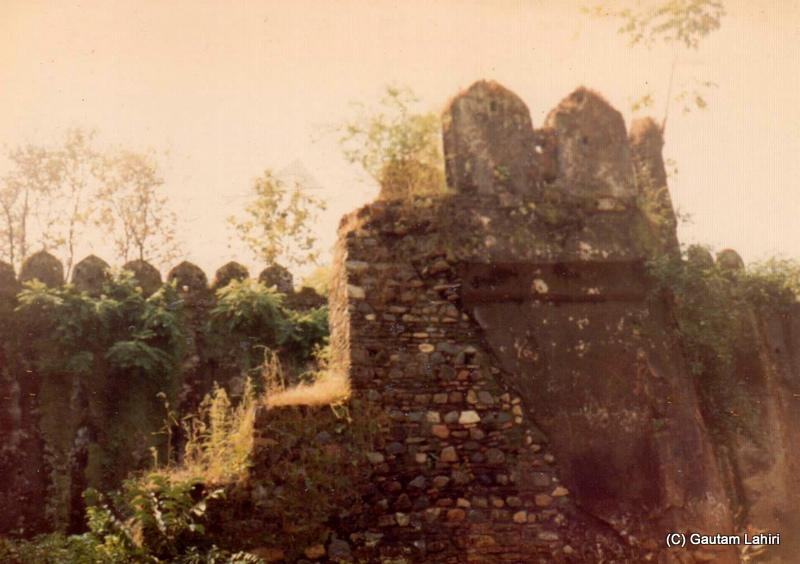 The broken fort of Betla ruled by Cheri kings, at Jharkhand, India by Gautam Lahiri