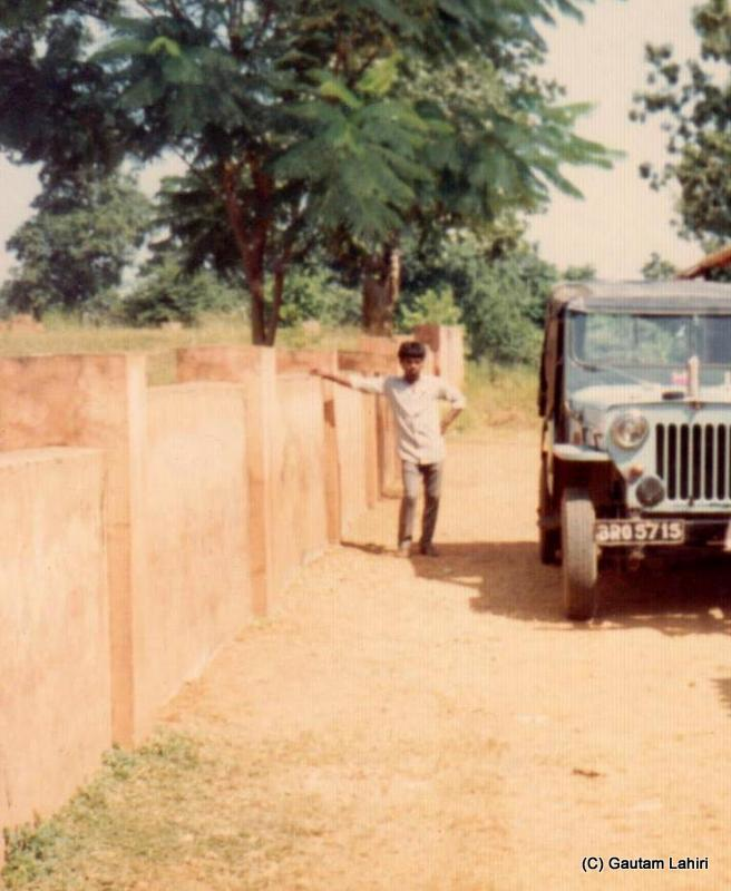 With the Jeep ready, we were all set to drive into the Betla forest reserve in Jharkhand, India by Gautam Lahiri