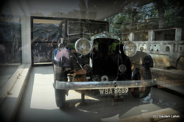 The 1933 Humber used by poet Rabindranath Tagore when he used to visit Santiniketan, West Bengal, India by Gautam Lahiri