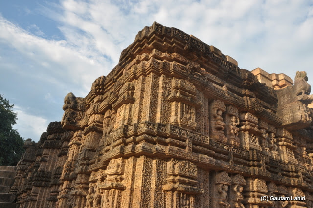 The intricate carvings on the rock still resist the nature's destructive forces at Puri, Odisha, India by Gautam Lahiri
