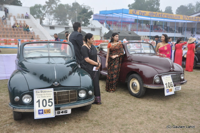 1949 Moris Minors, famous for their 918 cc Morris Side valve inline 4 cylinders was a very popular car in India, even 20 years back  at Kolkata, West Bengal, India by Gautam Lahiri