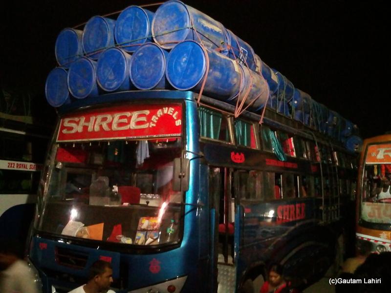 Kolkata to Gaya bus service by Gautam Lahiri