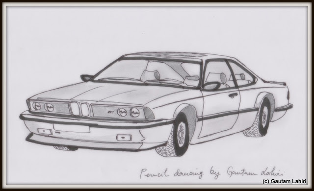 BMW M635CSi, drawn by Gautam Lahiri