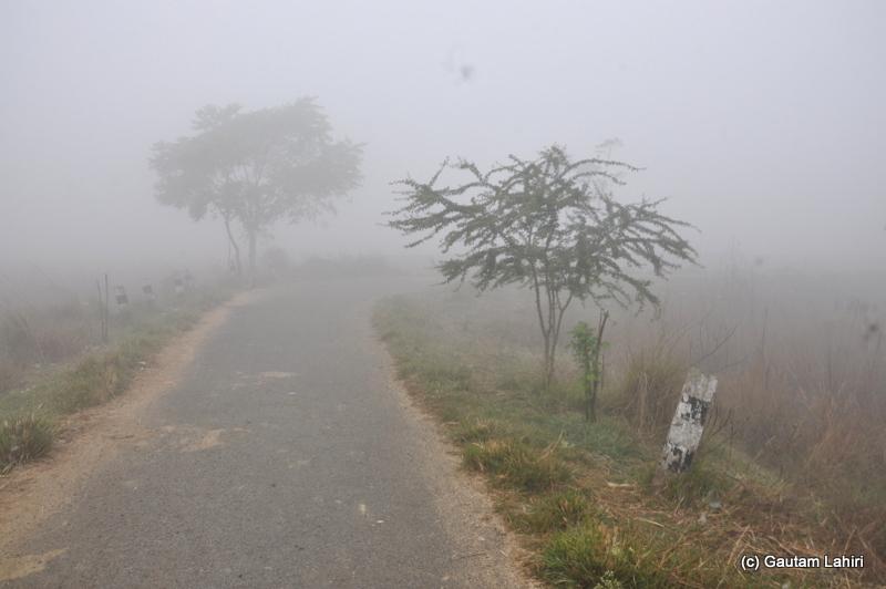 Bosipota central road by Gautam Lahiri