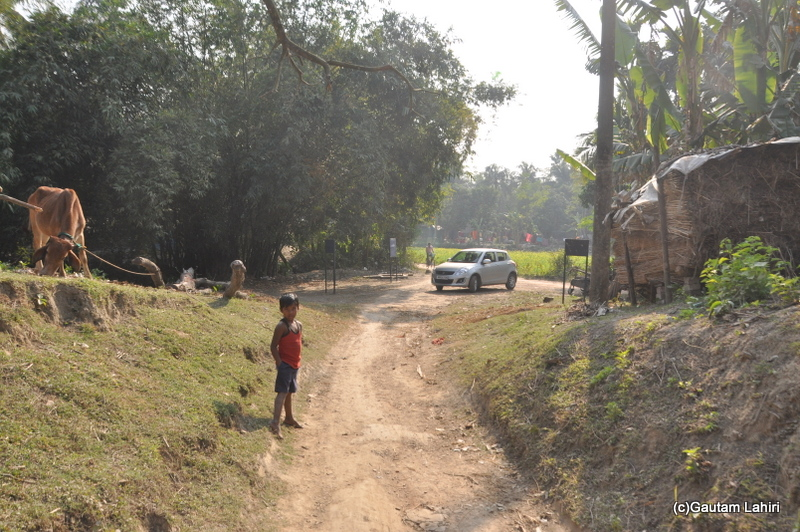 Local village at Chandraketugarh, taken by Gautam Lahiri