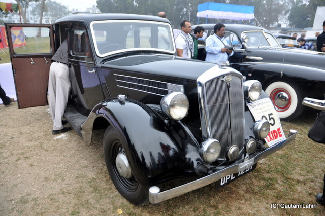 1947 Wolseley 14 stands upright, is blemish less, and this famous marque was bought my the Morris company in 1927  at Kolkata, West Bengal, India by Gautam Lahiri