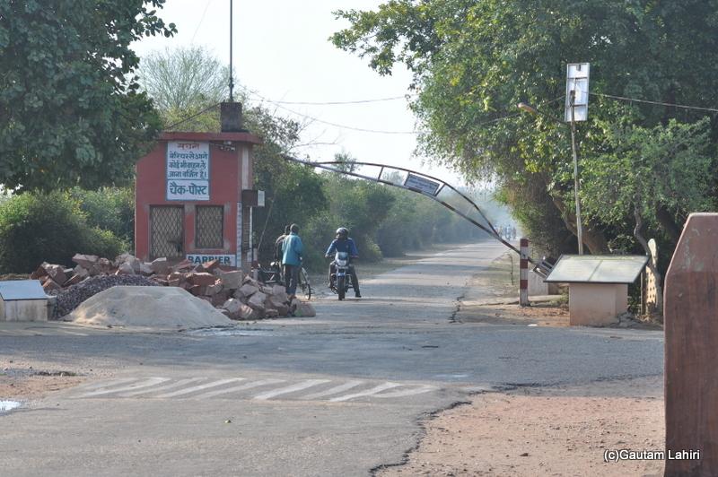 Bharatpur national park road at Keoladeo Sanctuary, Bharatpur Rajasthan taken by Gautam Lahiri