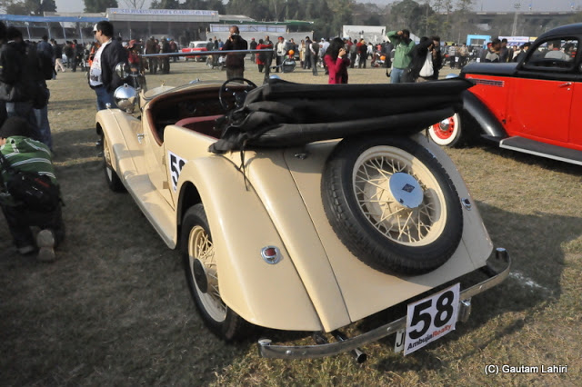 1938 Riley Lynx, one of the most popular British cars built during the Second World War. very neat and functional yet so beautiful  at Kolkata, West Bengal, India by Gautam Lahiri