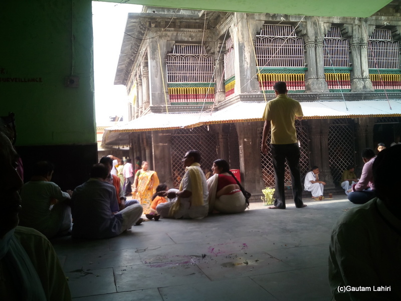 At Gaya, Puja proceedings underway at Vishnupada temple by Gautam Lahiri