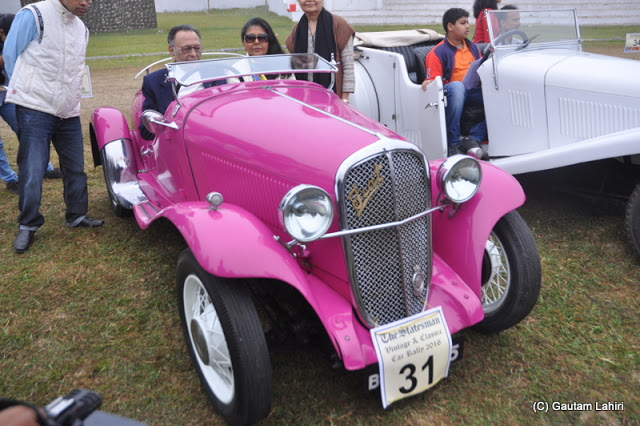 The soft purring of the 955 cc, 4 cylinders, made this 1933 Fiat stand out among others  at Kolkata, West Bengal, India by Gautam Lahiri