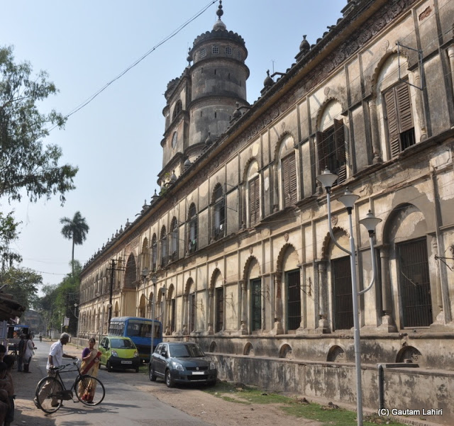 Bandel Imambara, on the banks of Hooghly river at Bandel, West Bengal, India by Gautam Lahiri
