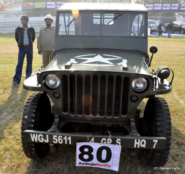1943 Ford Jeep, rugged and general purpose, maintained very well across the years stands in the morning sun  at Kolkata, West Bengal, India by Gautam Lahiri