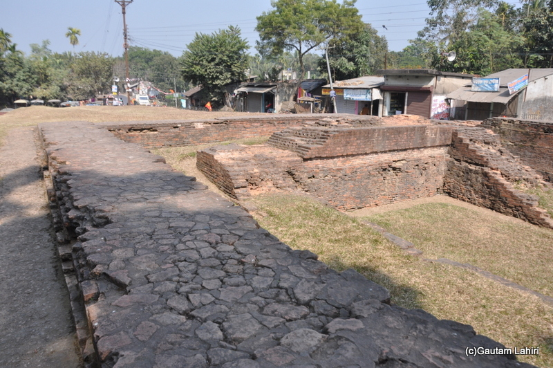 Ancient relics at Chandraketugarh, taken by Gautam Lahiri