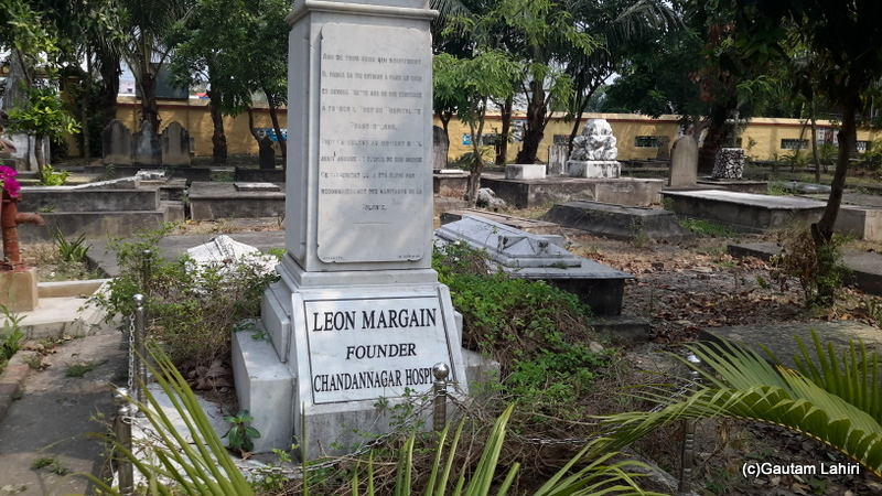 One of the few well-maintained graves in Chandannagar by Gautam Lahiri