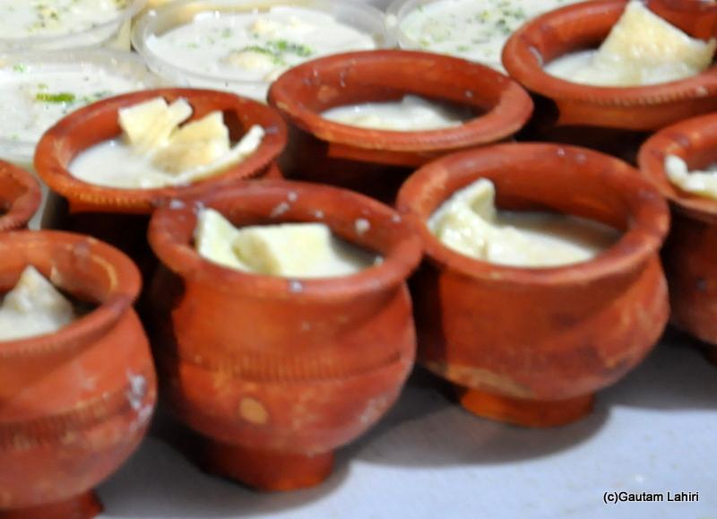 Rasamalai bengali sweet at Chandannagar by Gautam Lahiri