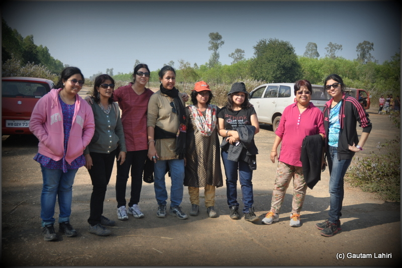 The ladies flying team who usually flew the DC-3 transporters and also doubled up as logistics experts at British airfield at Joypur jungle, Bankura by Gautam Lahiri