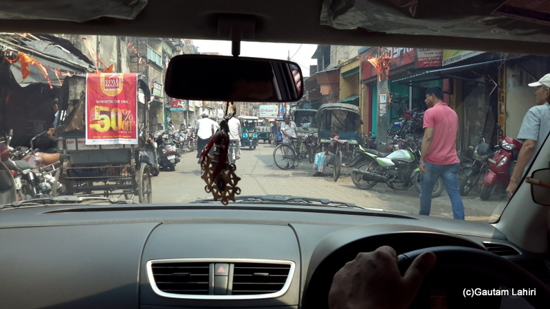 Narrow roads of Chandannagar by Gautam Lahiri