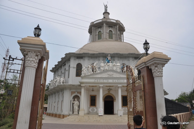 Roman Catholic church of Krishnanagar at Krishnanagar, West Bengal, India by Gautam Lahiri