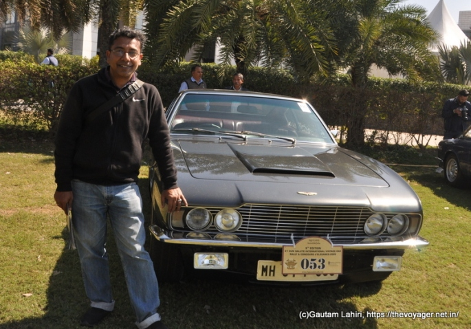 Aston Martin DBS 1970 and Gautam Lahiri