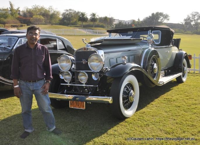 1930 cadillac 16 cylinders by Gautam Lahiri