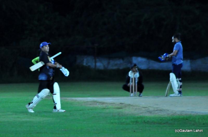 A new batsman comes to bat by Gautam Lahiri